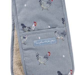 Sophie Allport Double Oven Glove Chicken