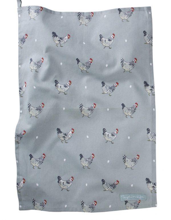 Sophie Allport Tea Towel Chicken