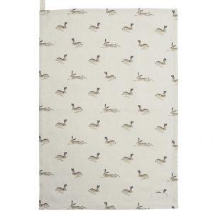 Sophie Allport Tea Towel Hare